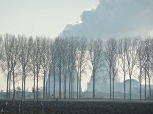 Koeltoren kerncentralepark Doel