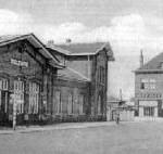 het vroegere station Zelzate